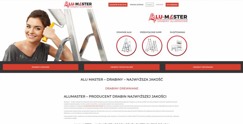 Drabiny Alumaster